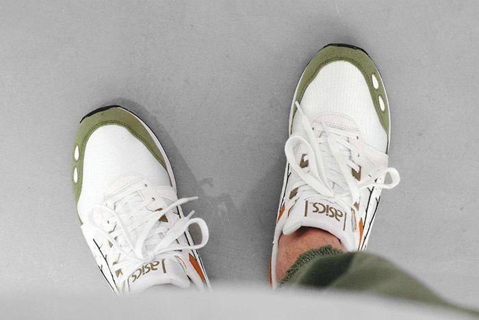 Asics Gel Lyte Aloe Green White 2