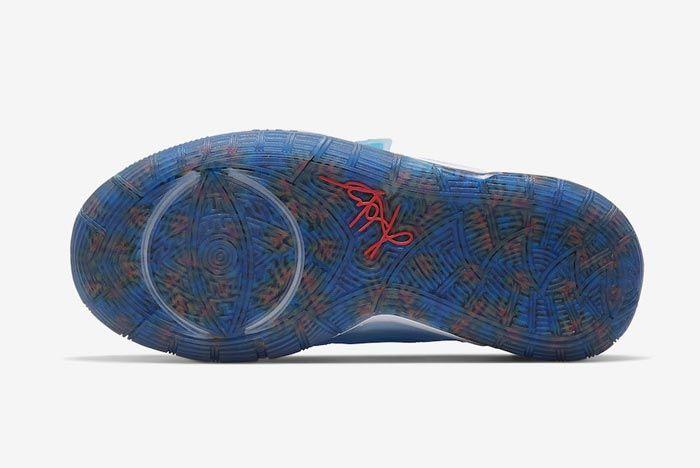 Nike Kyrie 6 Sapphire Outsole