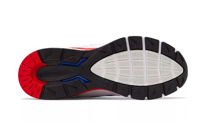 New Balance 990V5 Nimbus Cloud Team Royal Red Release Date Outsole