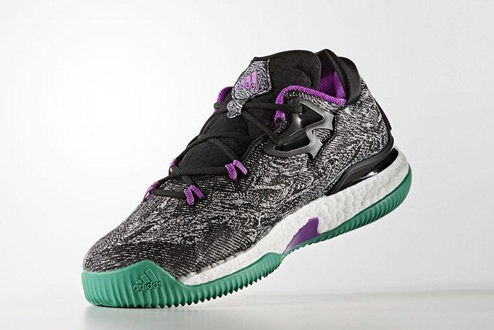 Adidas Crazylight Boost Black Shock Purple 4