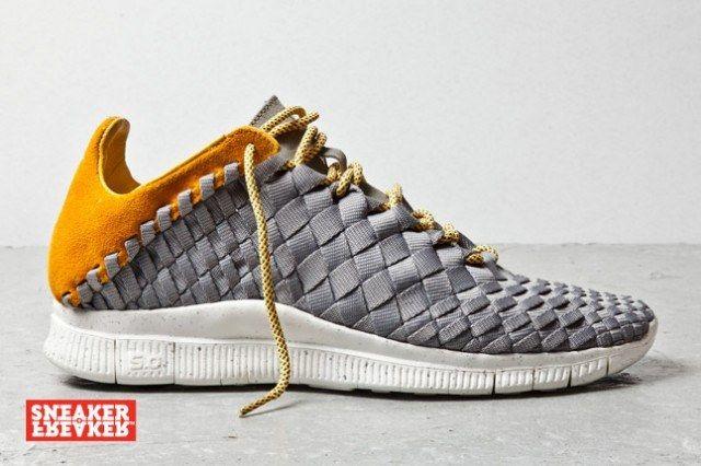 Nike Free Inneva Woven Mine Grey Laser Orange 1 1 640X426