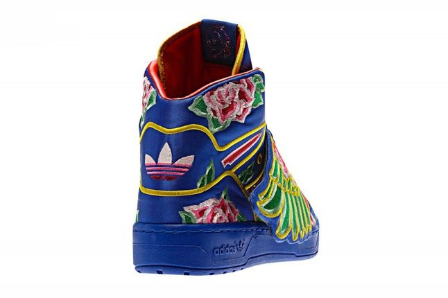 Eason Chan X Adidas Originals By Jeremy Scott 2013 Js Wings Heel 1