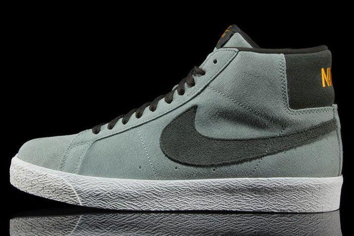 Nike Sb Blazer Mid Jade Horizon 864349 301 Lateral