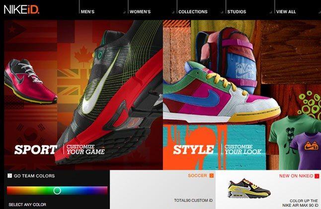 Nike Id Redesign 1