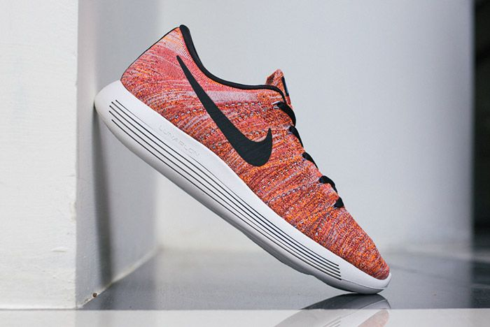Nike Lunarepic Flyknit Low Orange Red 2