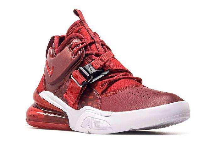 Nike Air Force 270 Red Croc Ah6772 600 3 Sneaker Freaker