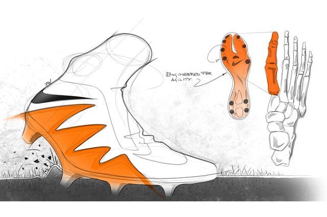 Nike Hypervenom 2 Design Sketches 3