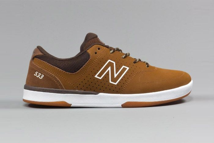 New Balance Numeric Pj Stratford 533 Brown 1