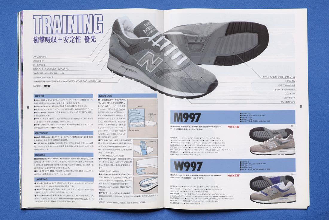 New Balance 997 History 997 Blue Ad