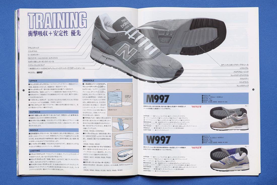 New Balance 997 History 997 Blue Ad