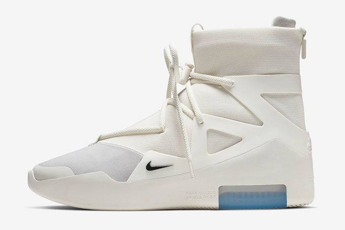 Nike Air Fear Of God 1 Sail Left