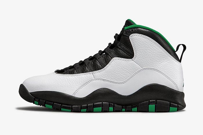 Air Jordan 10 Seattle 2019 Retro 310805 137 Release Date Side Profile