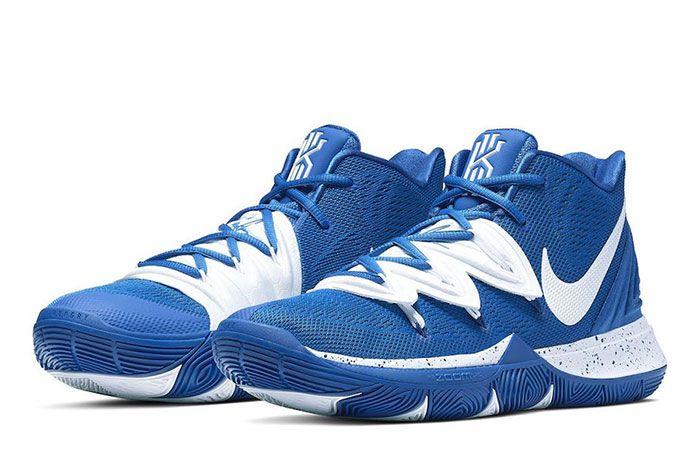 Nike Kyrie 5 Team Bank Blue White Toe 2