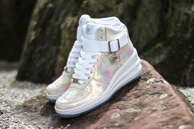 Nike Wmsn Lunar Force 1 Sky Hi Qs Mother Of Pearl 1