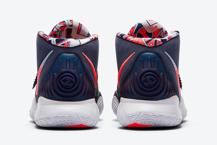Nike Kyrie 6 Usa Heel