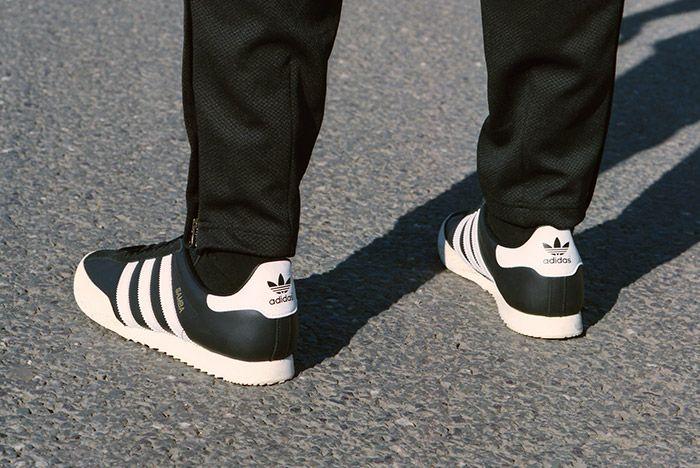 Adidas Spezial Samba Black White 5