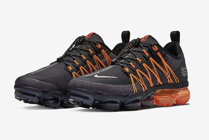 Nike Vapormax Run Utility Black Orange 1