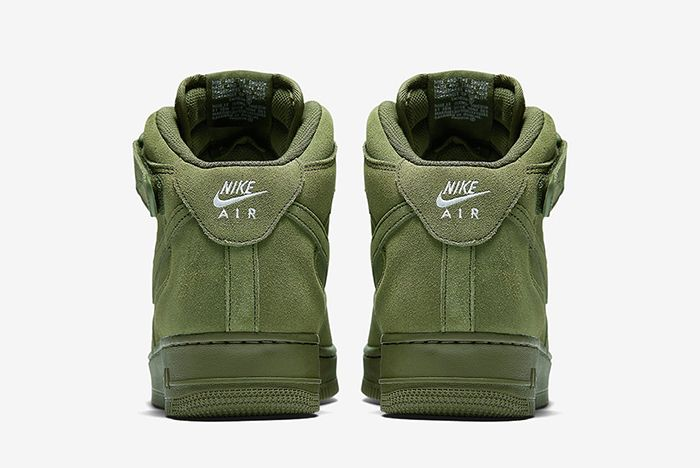 Nike Air Force 1 Mid Olive4