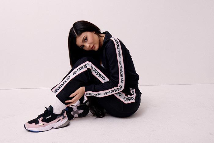 K Ylie Jenner X Adidas Falcon Release Date 13