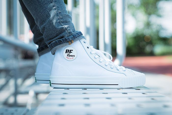 Pf Flyers Made In Use Centre Hi White 3