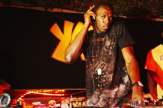 Bolt Dials Up His Inner Dj At The Puma Yaam Party 1
