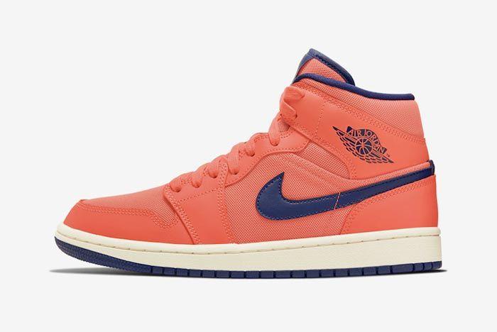 Air Jordan 1 Turf Orange Lateral