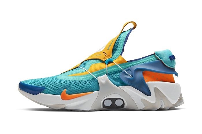 Nike Adapt Huarache Teal Leak First Look Release Date Lateral