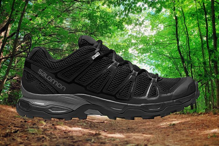 Salomon Xa Comp Adv Black Lateral