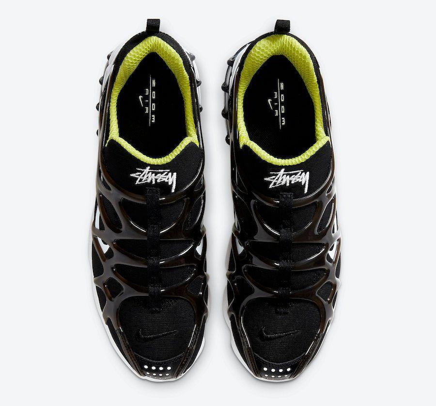 Stussy Nike Air Zoom Spiridon KK Black Top