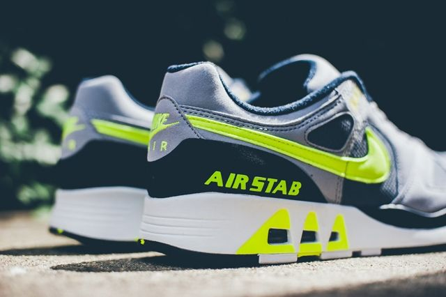 Nike Air Stab Cool Grey Volt 4