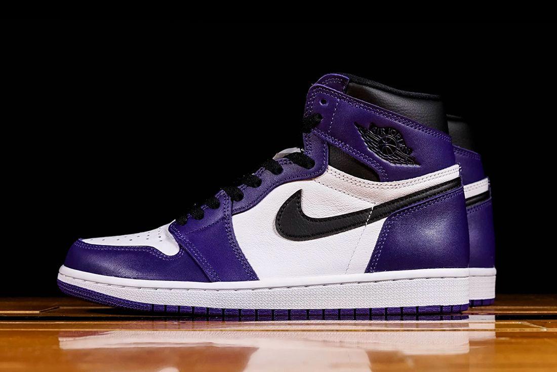 Where To Buy Air Jordan 1 Court Purple