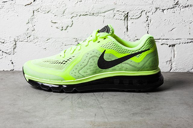 Nike Air Max 2014 Black Barely Volt