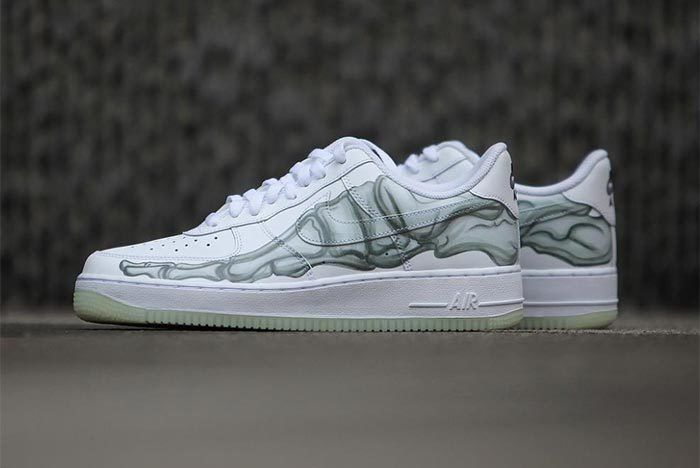Air Force 1 Skeleton 2 Sneaker Freaker