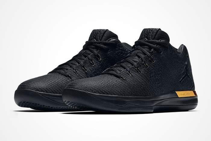 Air Jordan Xxxi Blackgold 1