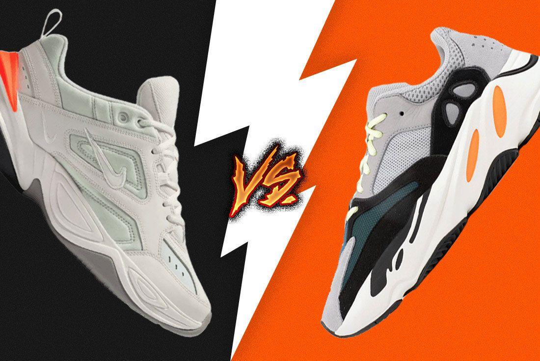 Sneaker Showdown Adidas Yeezy 700 Vs  Nike M2K Tekno 6
