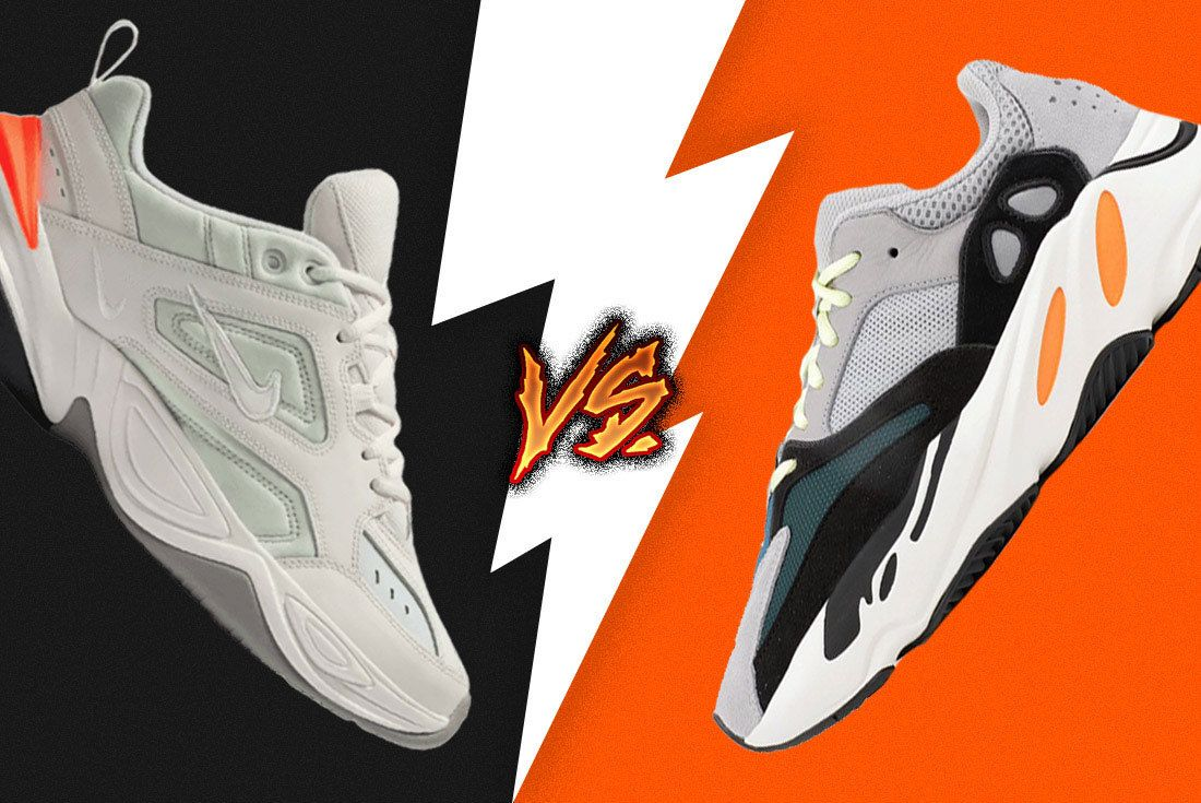 Sneaker Showdown Adidas Yeezy 700 Vs  Nike M2K Tekno 6