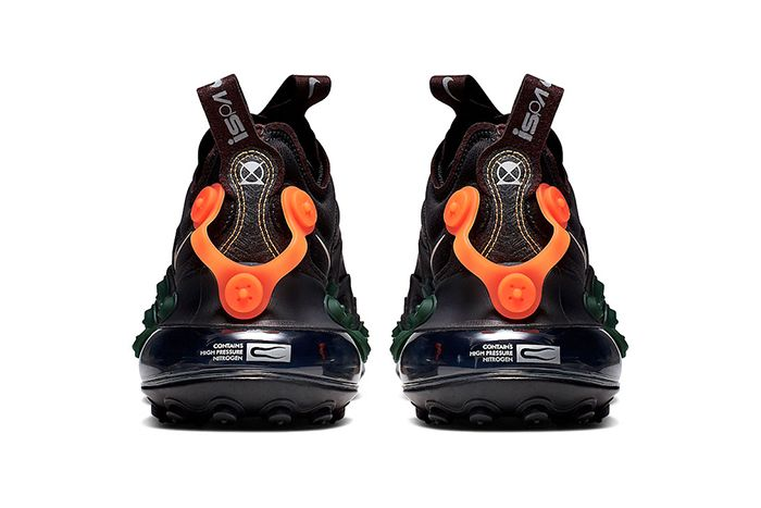 Nike Air Max 720 Ispa Black Cd2182 001 Release Date Heel