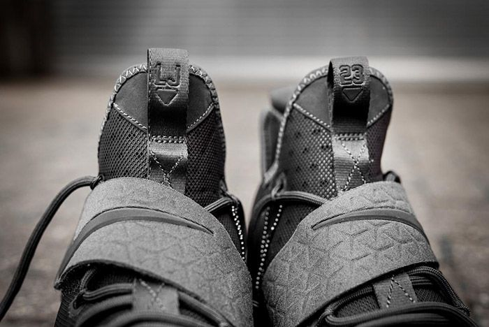 Nike Lebron 14 Triple Black 2