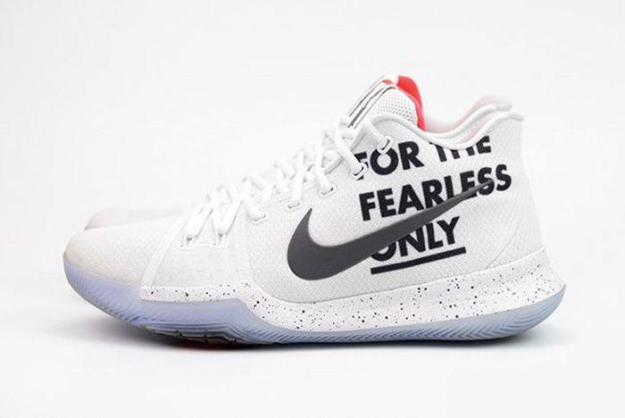 Kyrie 3 For The Fearless 2 Sneaker Freaker