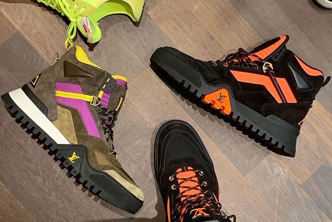 Don C Instagram Louis Vuitton Hiking Boot Top Shot