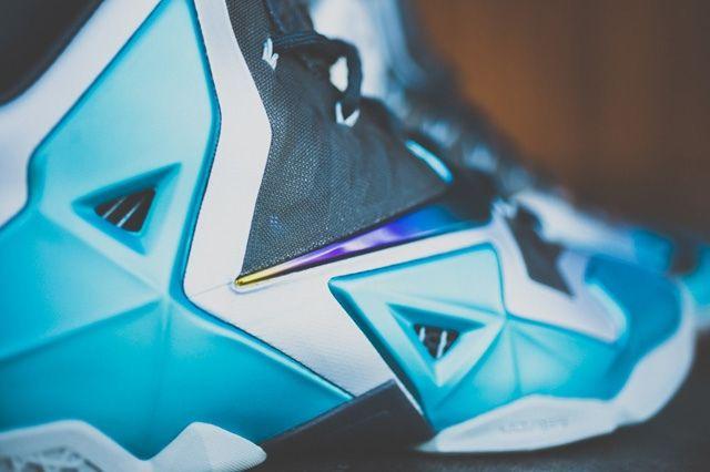 Nike Lebron 11 Gamma Blue Bump 1