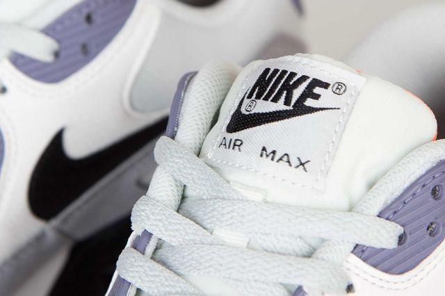 Nike Air Max 90 Essential Iron Purple Atomic Orange 6