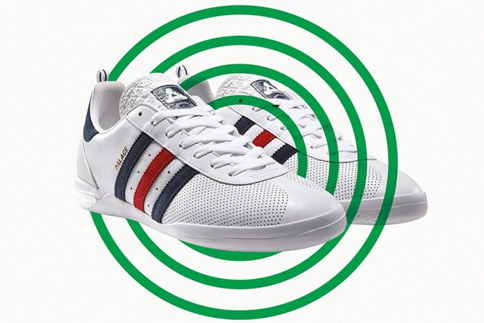 Adidas Palace Indoor Boost White Front