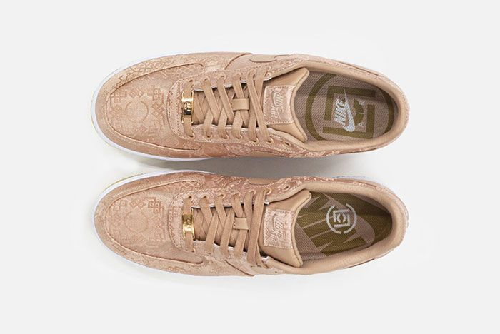 Clot Nike Air Force 1 Rose Gold Top