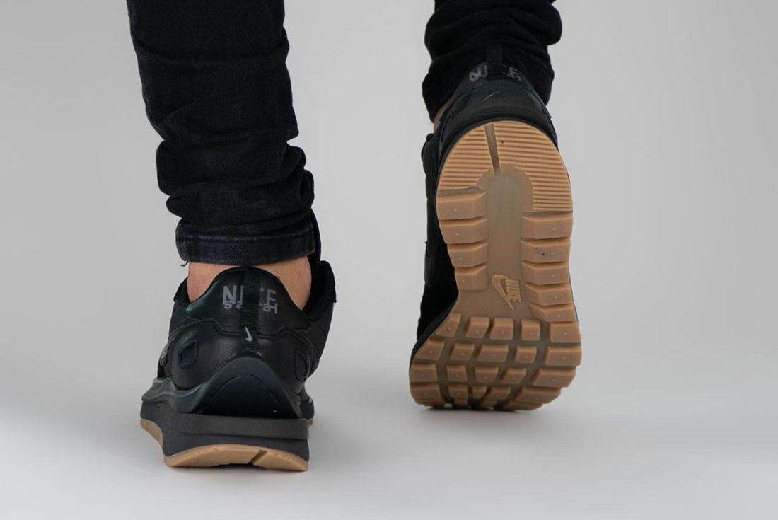 sacai Nike VaporWaffle Black Gum