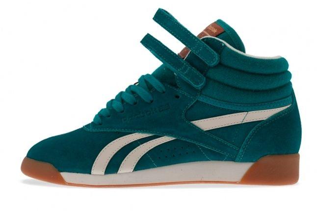 Reebok Freestyle Hi Italy Green 1