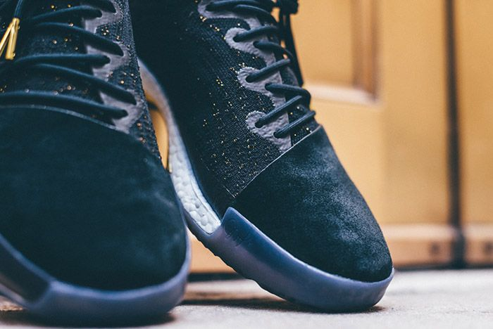 Adidas Harden Vol 1 Imma Be A Star Black Gold 2