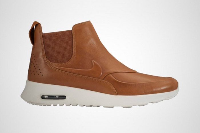 Nike Womens Air Max Thea Mid Top Boot Tan