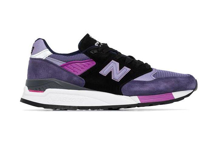 New Balance 998 Purple Lateral Side