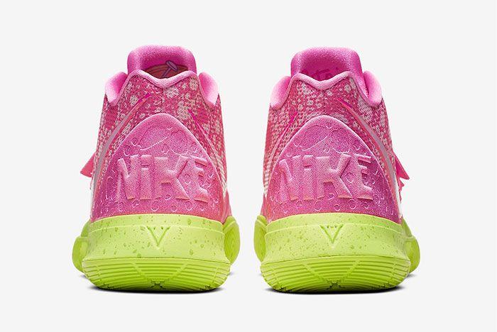 Nike Kyrie 5 Spongebob Patrick Star Heel 3